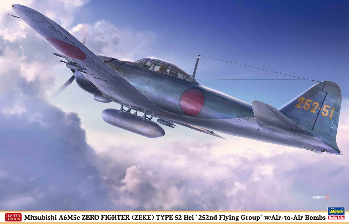 """A6M5c """"252nd Flying Group"""" w/A-A Bomb"""