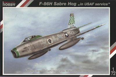 "F-86H Sabre Hog ""in USAF serv"""