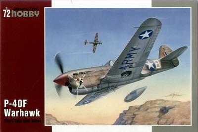 P-40F Warhawk Short Tails over Afrika