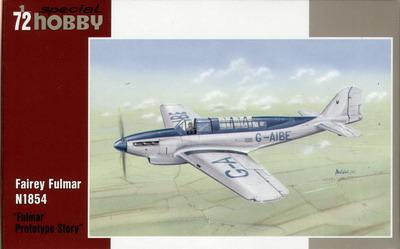 """Fairey Fulmar N1854 """"Prototype Story"""""""