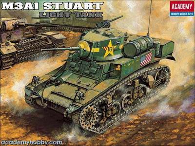 M3 A1 Stuart w/interior