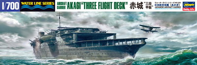 "IJN Akagi ""Three flight deck"""