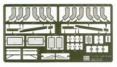 AH-64D Detail up Parts 1/48