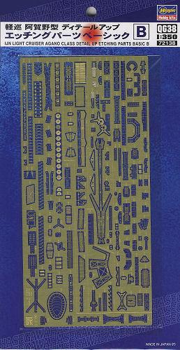 IJN Agano Detail Up Basic B 1/350
