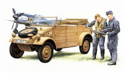 Kubelwagen Type 82 1/48
