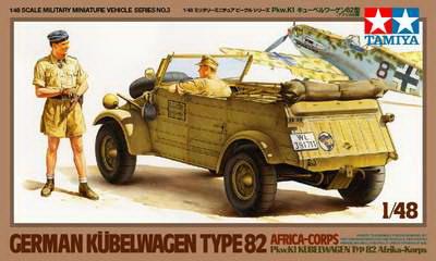 Kubelwagen Type 82 (Africa) 1/48