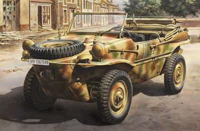 Schwimmwagen Type 166 1/48