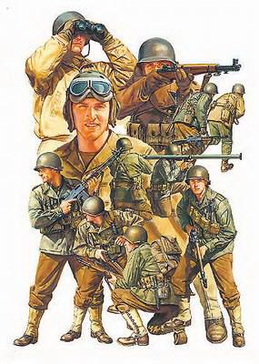 US Infantry GI Set 1/48