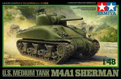 M4 A1 Sherman 1/48