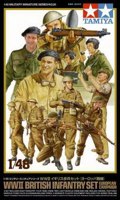 British Infantry Europe 1/48