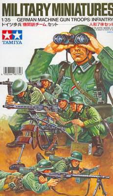 German MG Troops