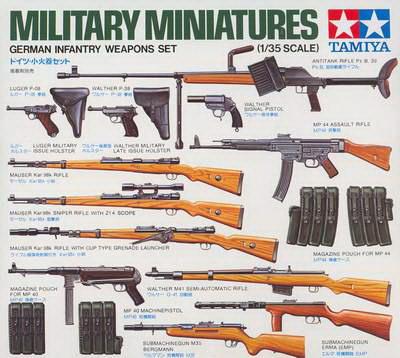 German Weapons Set