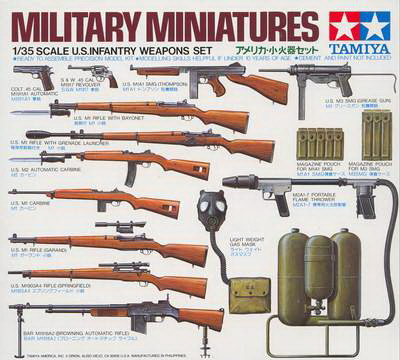 US Weapons set