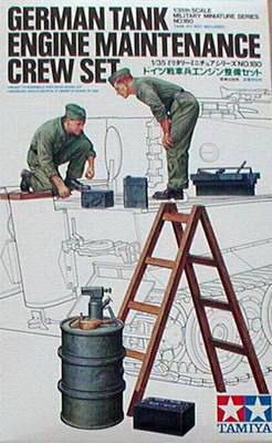 German Tank Engine Crew