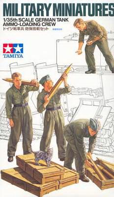 German Tank Ammo-Loading Crew