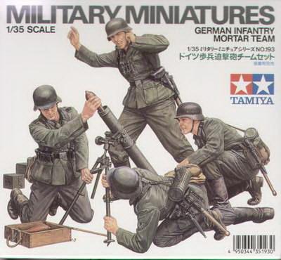 German Infantry Mortar Team