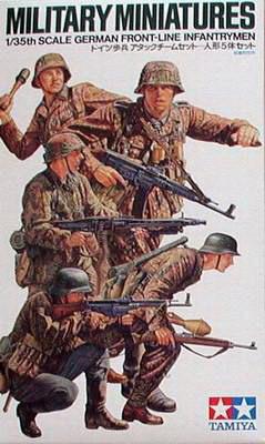 German Front-Line Infantry