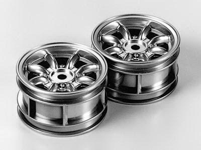 M-CH 8-spoke wheels plated *2