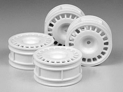 26mm Rally dish Wheels *4 (white)