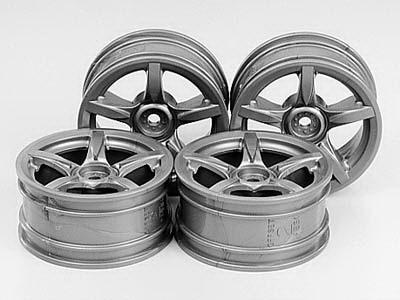 26mm Arched 5-spoke wheels +2 *4