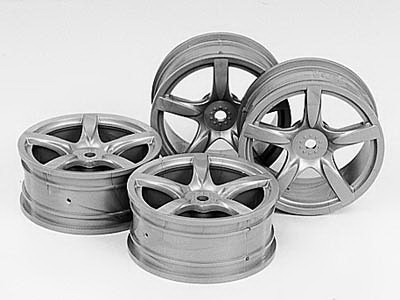 24mm Arched 5-spoke wheels +0 *4