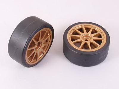 26mm Drift Tires Type D+Wheels*2