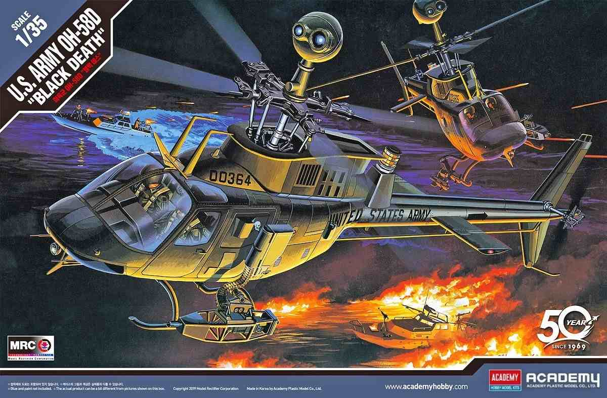 """OH-58D """"Black Death"""" US Army"""