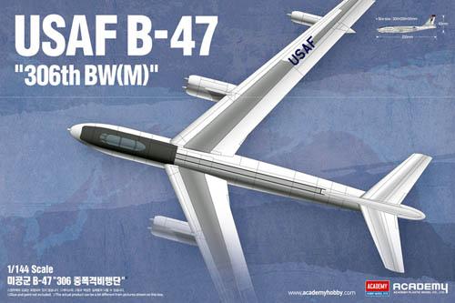 """B-47 USAF """"304th BW(M)"""" 1/144"""