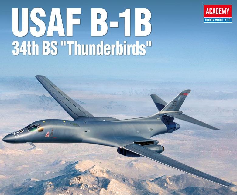 "B-1B 34th BS ""Thunderbirds"" 1/144"