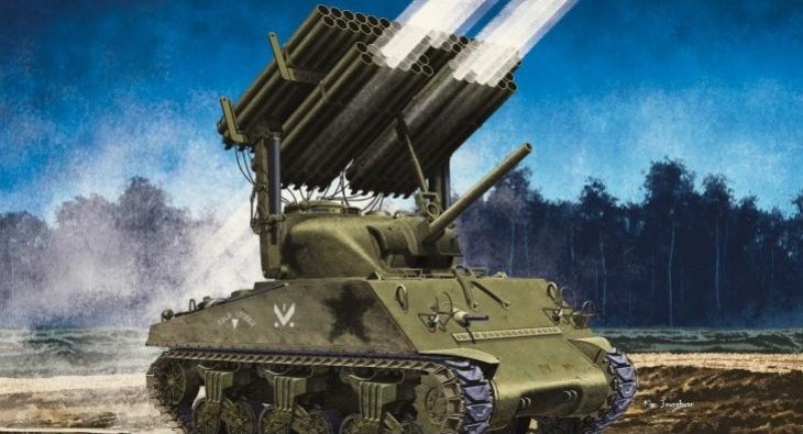M4 A3 Sherman w/Calliope