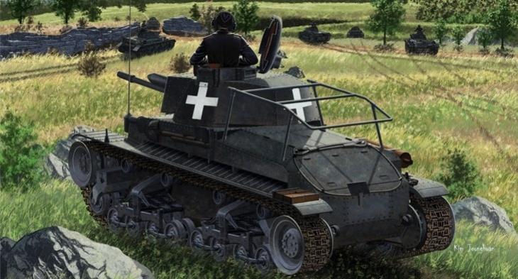 Pz.Bef.Wg.35(t) German Command Tank