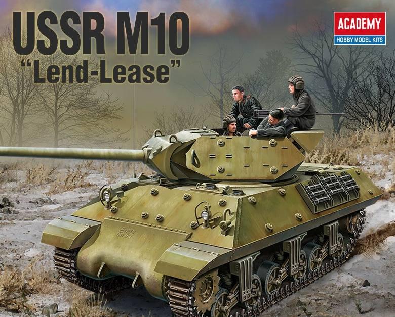 "M10 USSR ""Lend-Lease"""