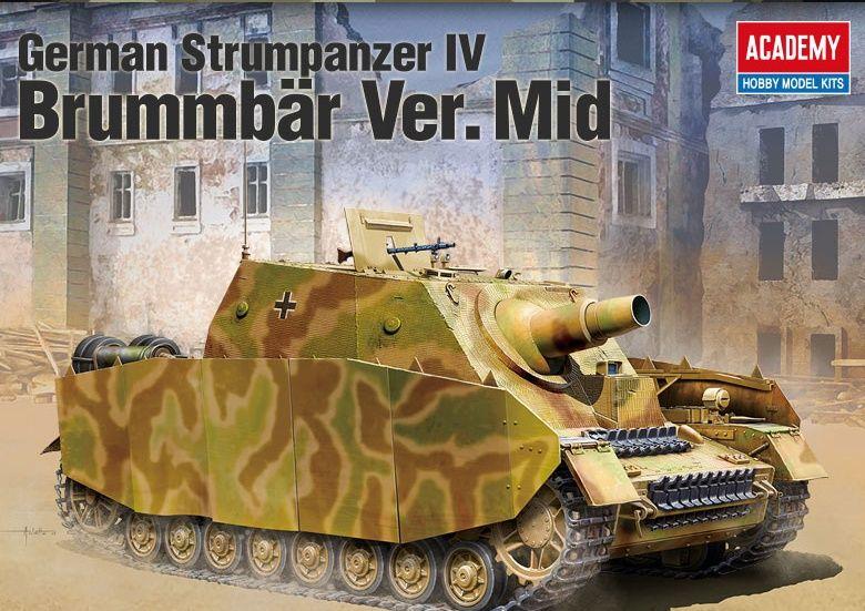 Sturmpanzer Brummbär Mid. version