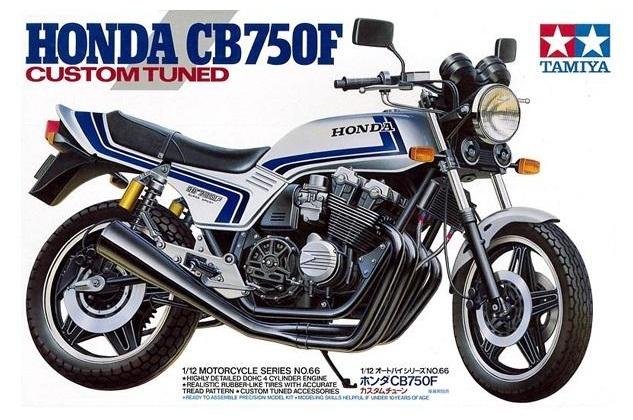 "Honda CB750F ""Custom Tuned"""