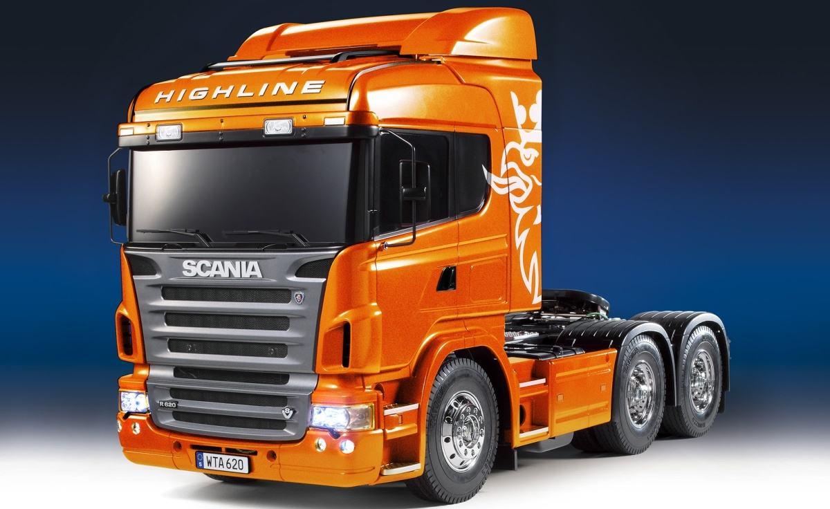 Scania R620 FO Metal Orange Fin.