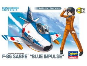 "F-86 Sabre ""Blue Impulse"" Eggplane"