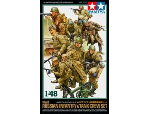 Russian Infantry+Tank Crew 1/48