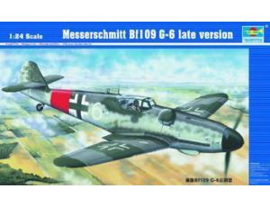 Bf 109G-6 late