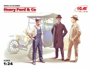 Henry Ford + Co 3 Figures