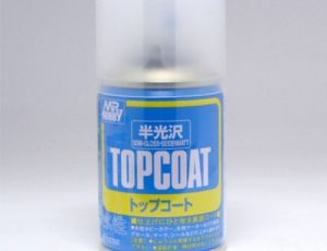 Mr.Top Coat Semi Gloss-Polomatn