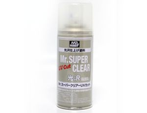 Mr.Super Clear UV Cut Gloss Spray