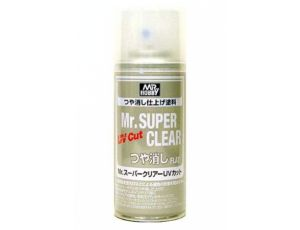 Mr.Super Clear UV Cut Flat Spray