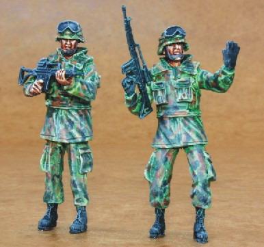Bundeswehr infantry (2fig.)