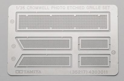 Cromwell Mk.IV fotoleptané díly