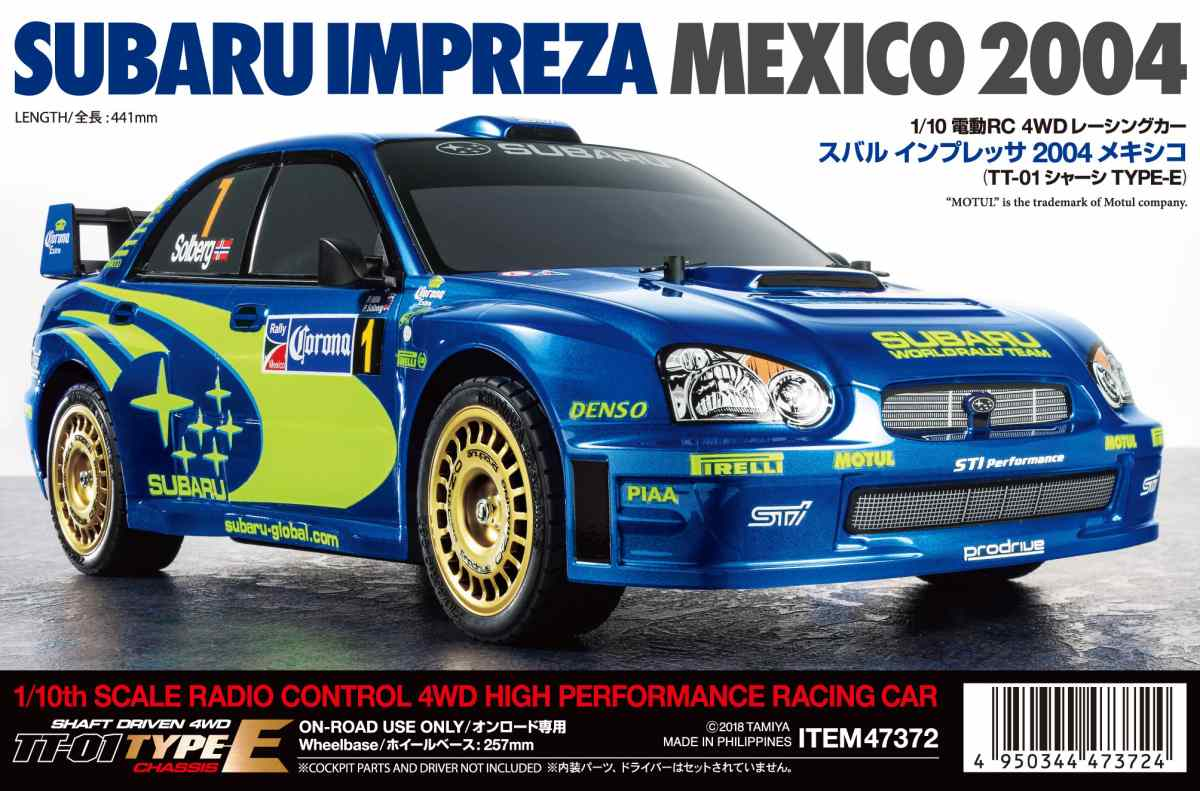 TT01E Impreza Mexico 04