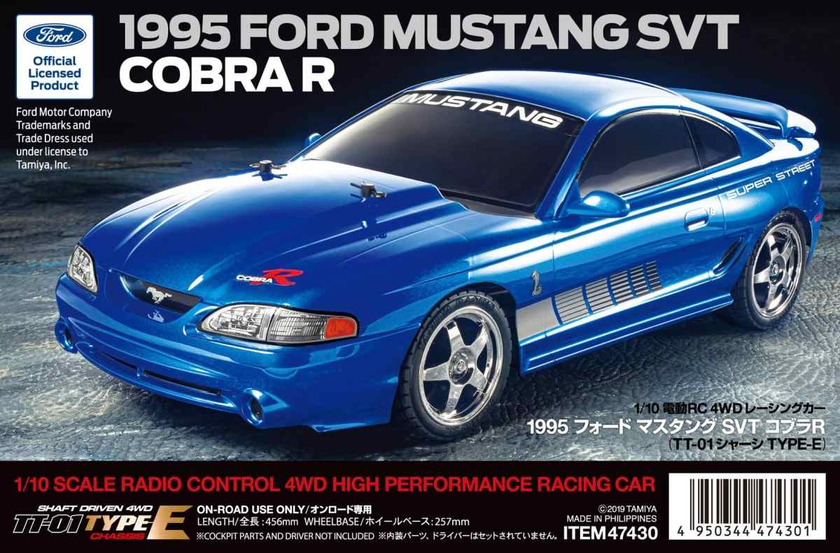 TT01E Mustang SVT CobraR