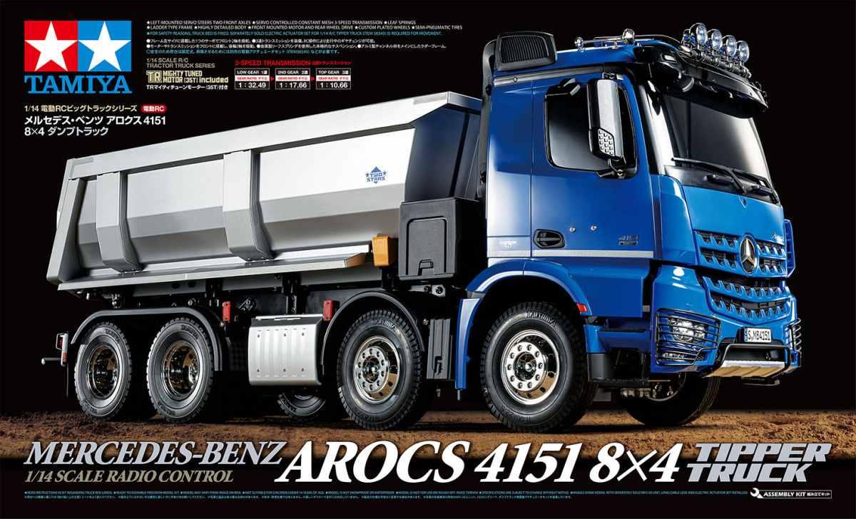 RC Arocs 4151 Tipper Truck