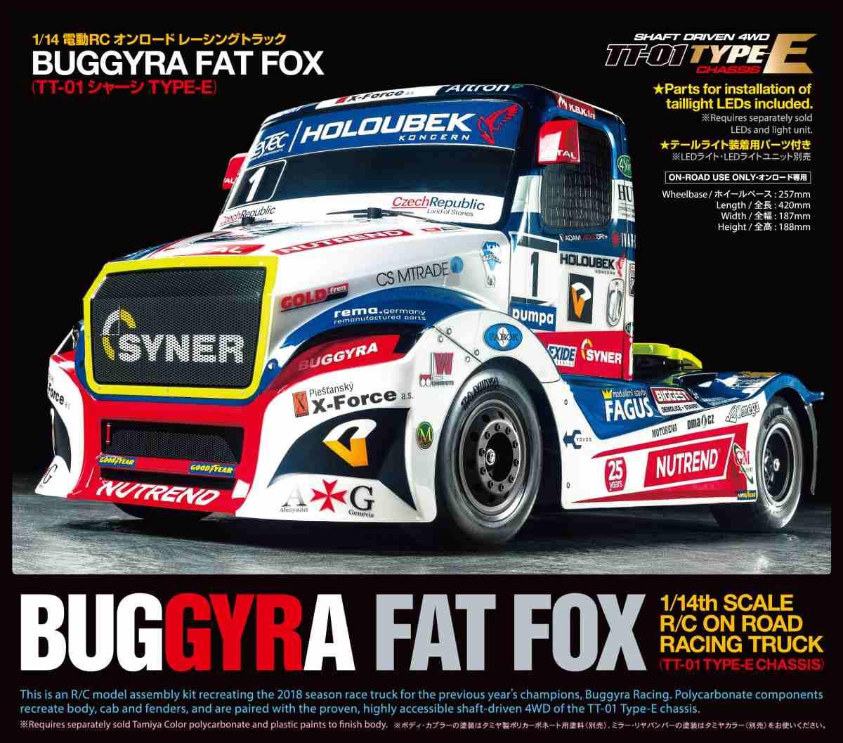 TT01E Buggyra Fat Fox
