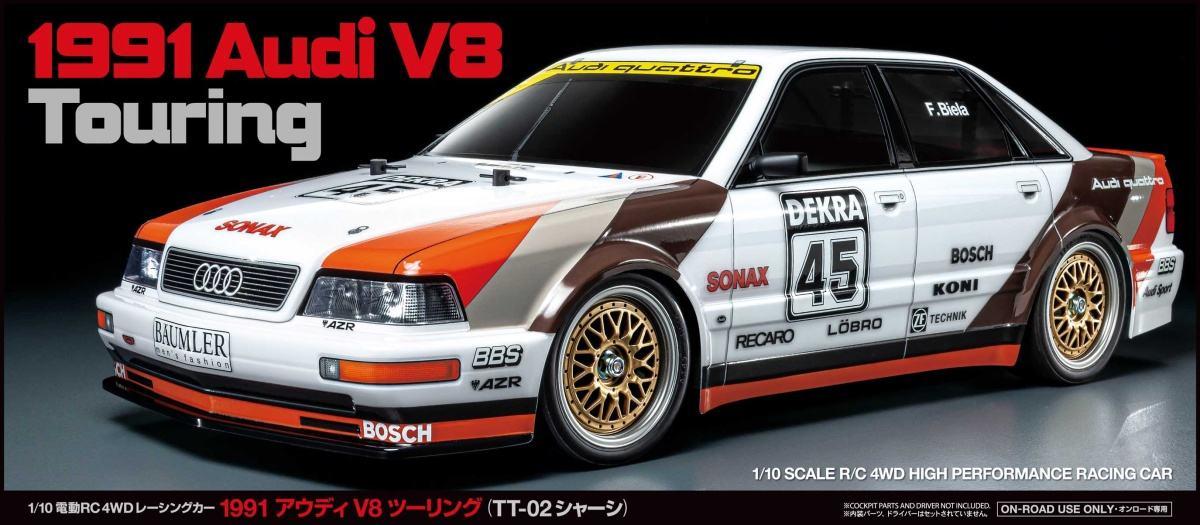 TT02 1991 Audi V8 Touring