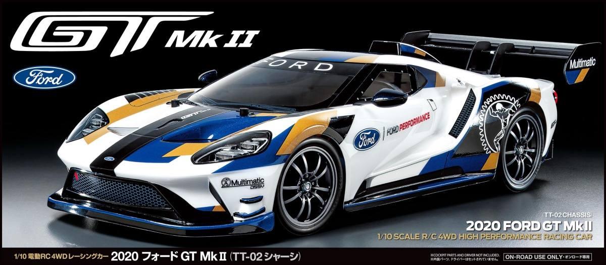 TT02 2020 Ford GT Mk.II